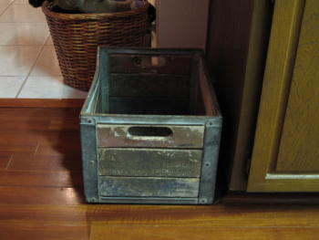 Finished Antique Recycle Bin