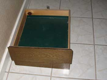 Drawers With Unfinished Insides