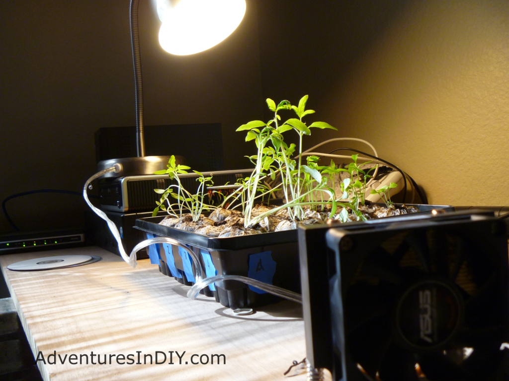 Make a cheap grow lamp from stuff you already have for Cheap house stuff