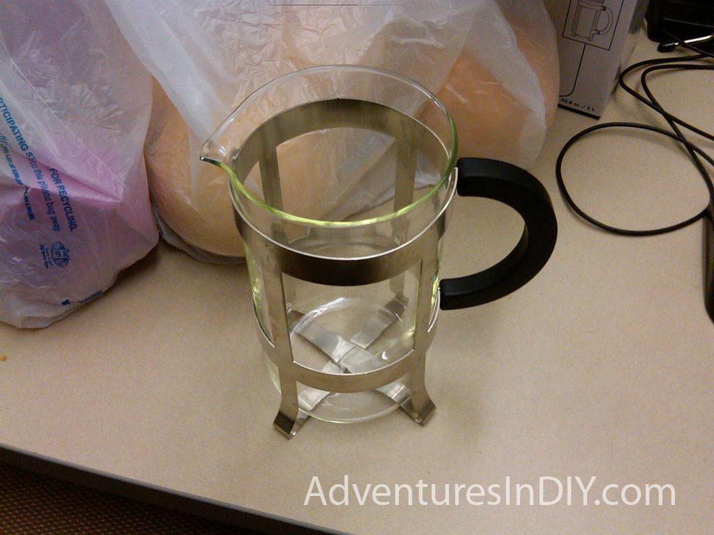 Bodum french press replacement glass - Bonjour Fits My Coffee Press Beautifully
