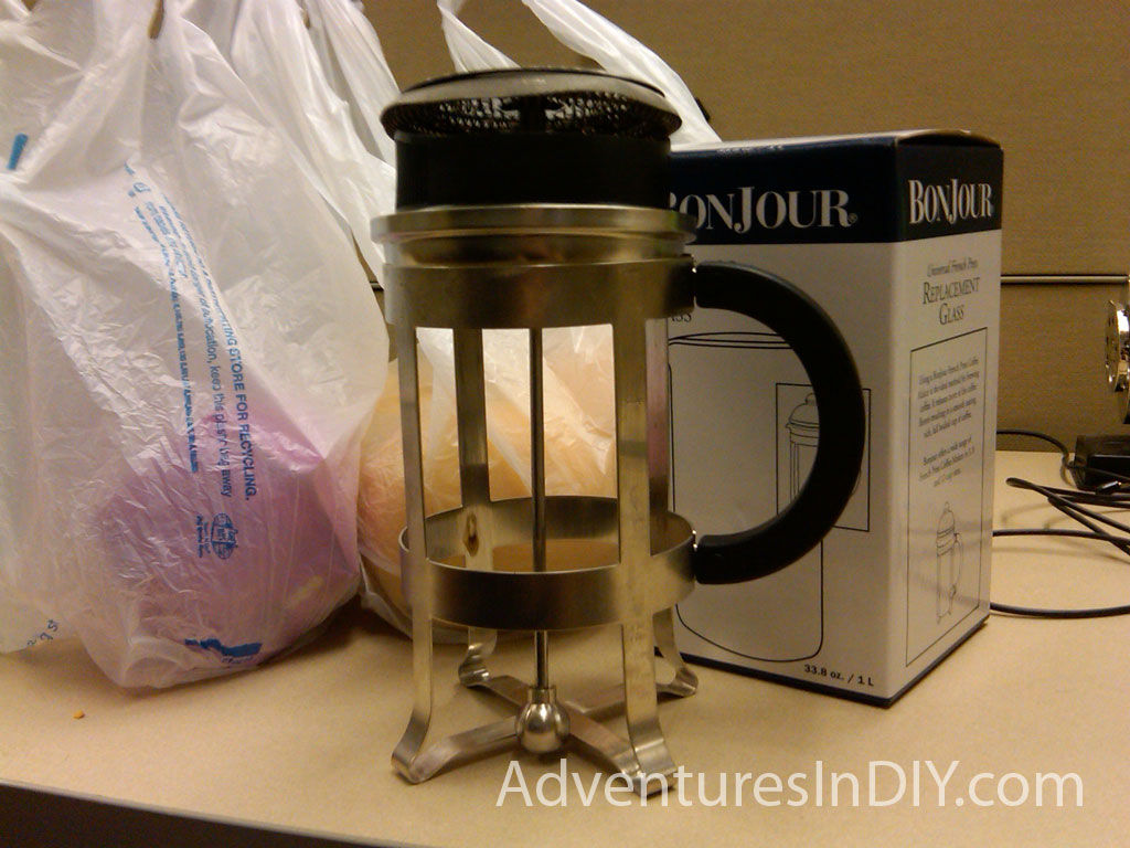 Starbucks Coffee Press Replacement Glass Review Adventures In Diy