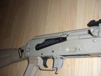 Bulgarian AK Body Close Up