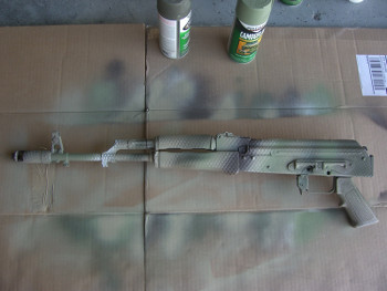Finished Snake Skin Camouflage AK