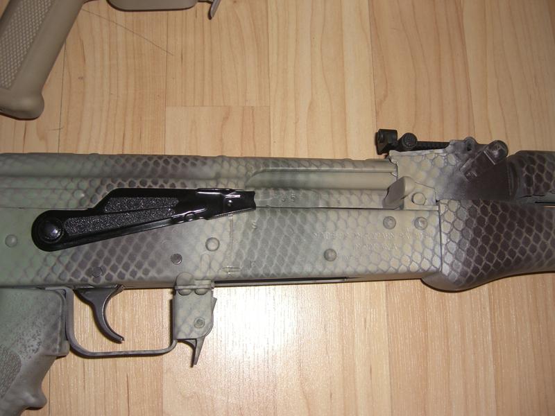 Custom Paint On Bulgarian and Romanian AK Rifles- Part 2