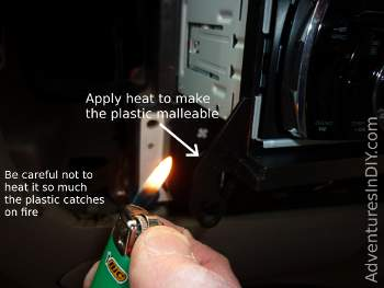 Adjusting Dash Kit With Heat Source
