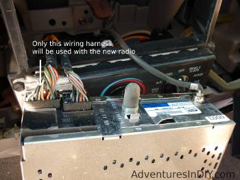 Factory Radio Wiring Harness