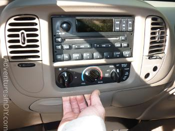 Removing Front Dash Panel