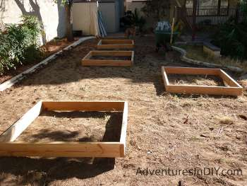 Getting A Feel For Raised Bed Locations