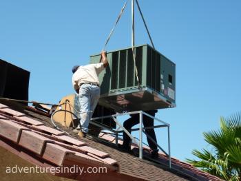 Positioning New HVAC Unit