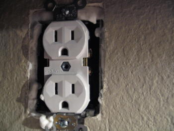 Electrical Outlet Box With Foam