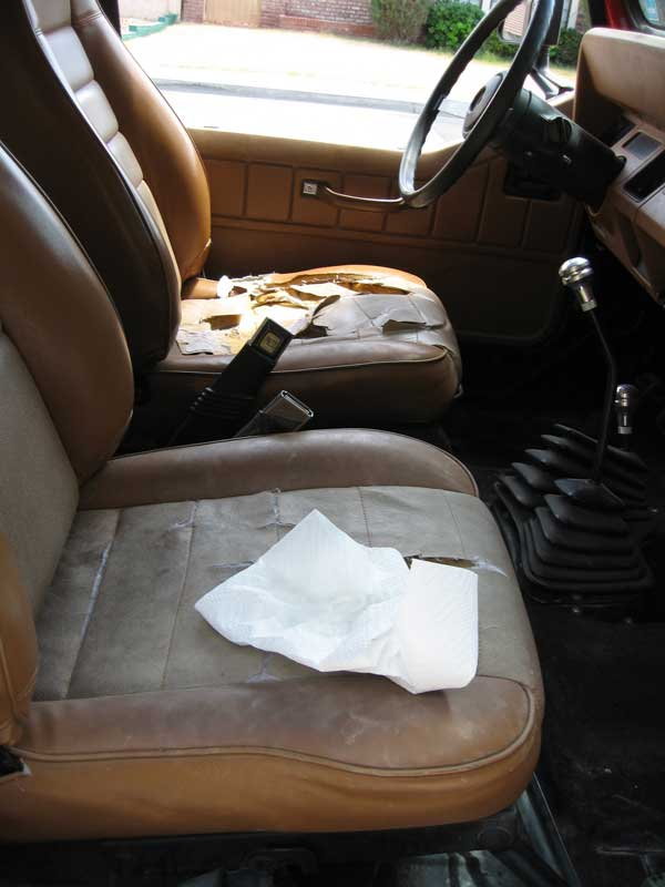 Cleaning Jeep Seats With Water