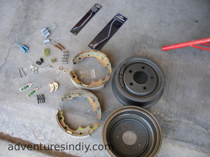 Jeep Drum Brake Diagram : Rebuilding rear drum brakes on a jeep wrangler yj