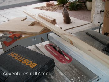 Resizing 2x4 Lumber For Interior Supports