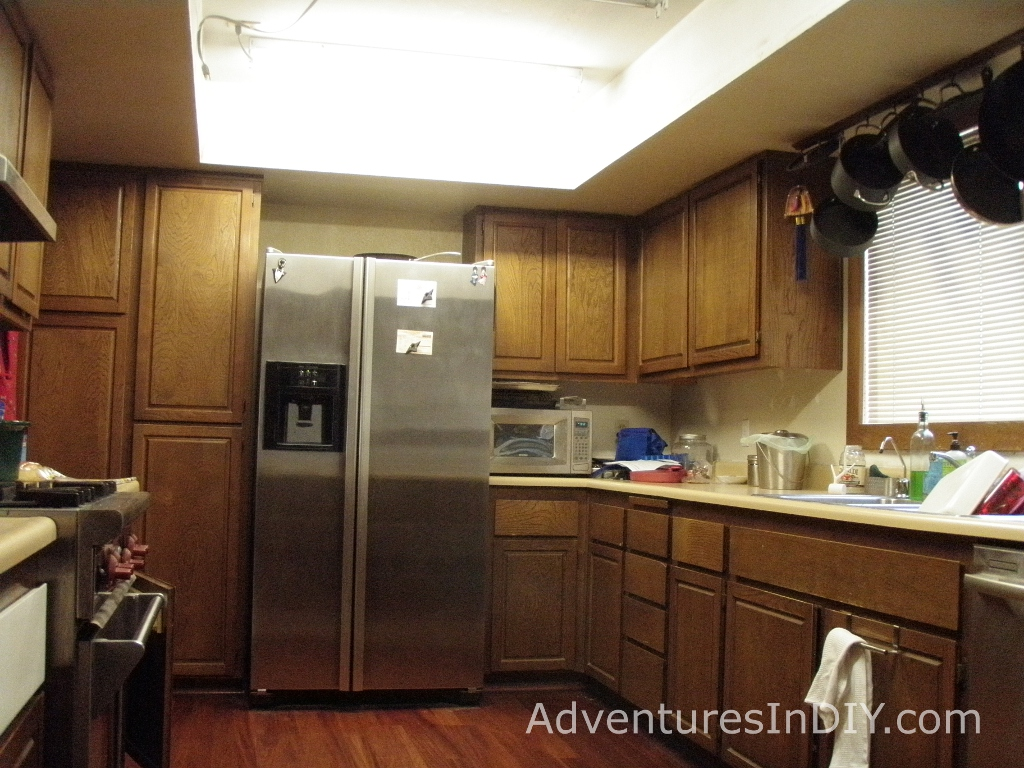 Old Kitchen Cabinet Painting Kitchen Cabinets Day 1 Adventures In Diy