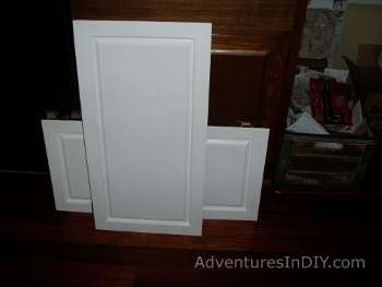 Doors From Failed Test Cabinet Off