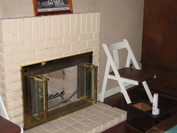 Drafty Fireplace