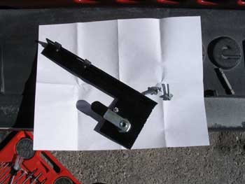 Jeep Hood Lock Assembly Preparation