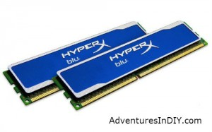 Kingston HyperX Blu RAM used in upgrade
