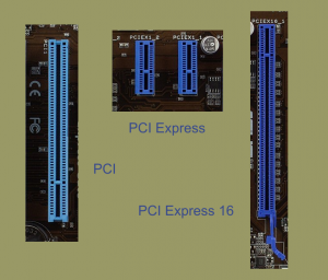 Comparison of PCI Express Slot Sizes