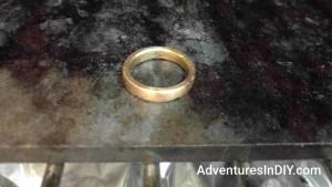 Curing Enamel Coating On Copper Ring