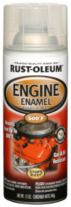 Rustoleum Clear Engine Enamel