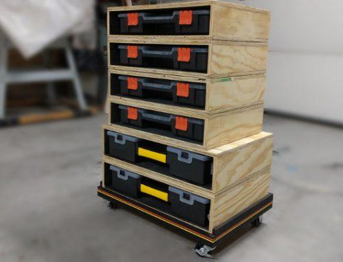 DIY Modular Rolling Storage