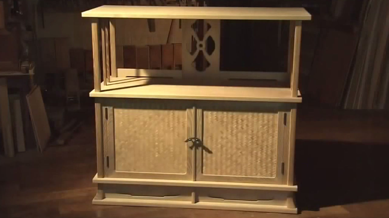 Sashimono Furniture Example