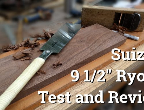 Suizan 9 1/2″ Ryoba Test and Review