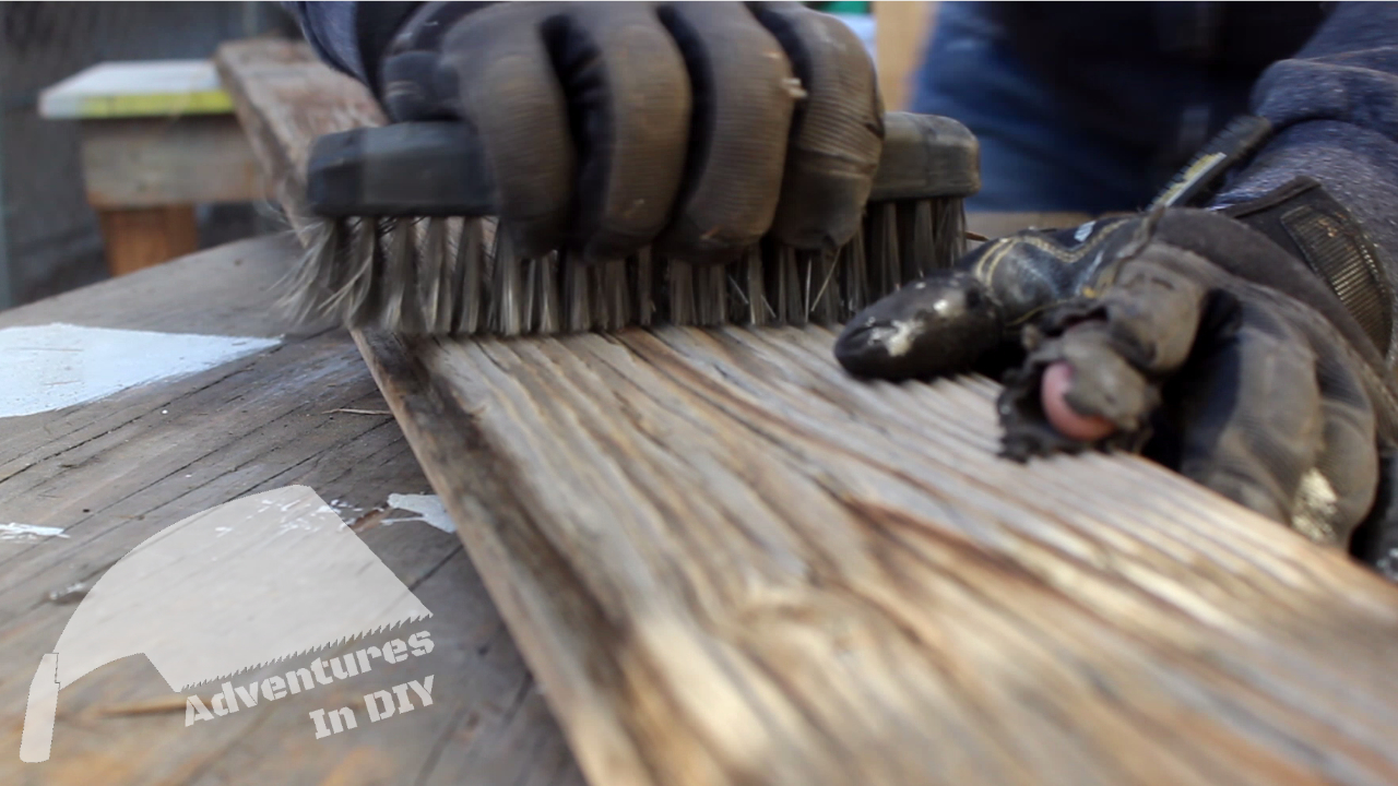 Cleaning Reclaimed Wood For Table Top