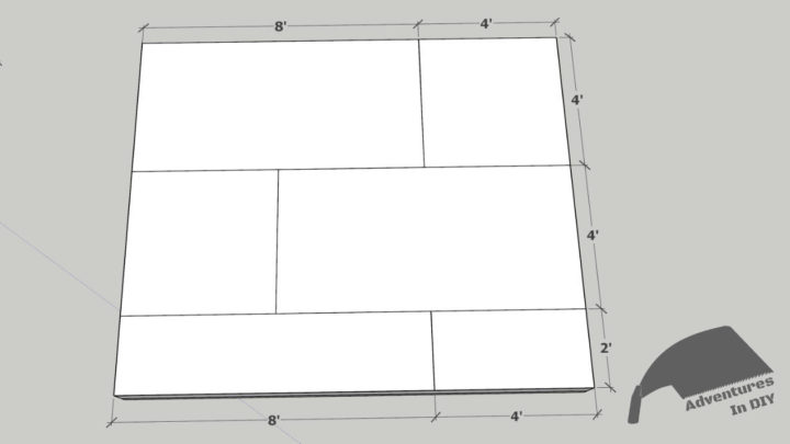 Flooring Sheet Layout