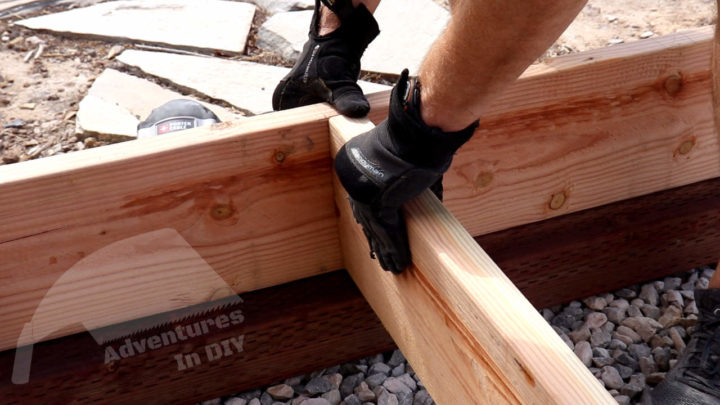 Leveling Joist With Rim Joist