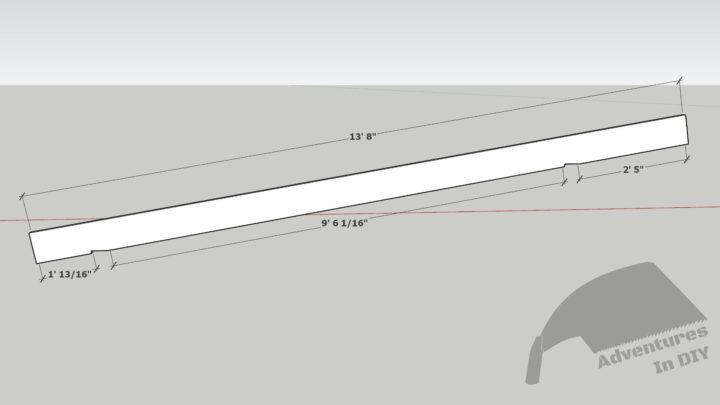 Rafter Cut Dimensions