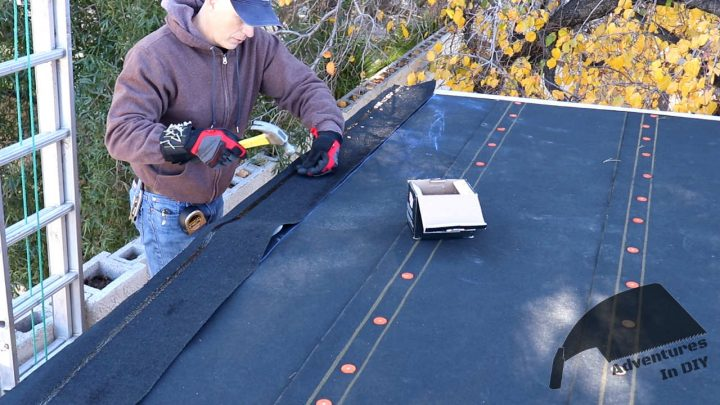 Installing the Starter Strip Before Shingling