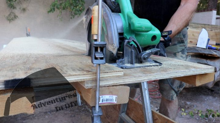 Using a Guide and Circular Saw to Cut Fascia