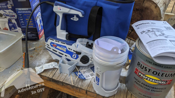 Graco True Coat 360 Portable Paint Sprayer